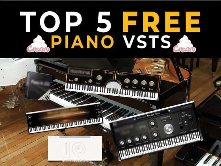 Top 5 piano vsts free