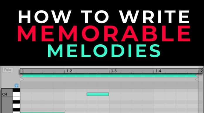 how to write memorable melodies