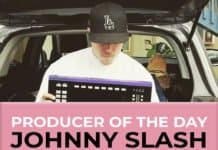 producer of the day johnny slash