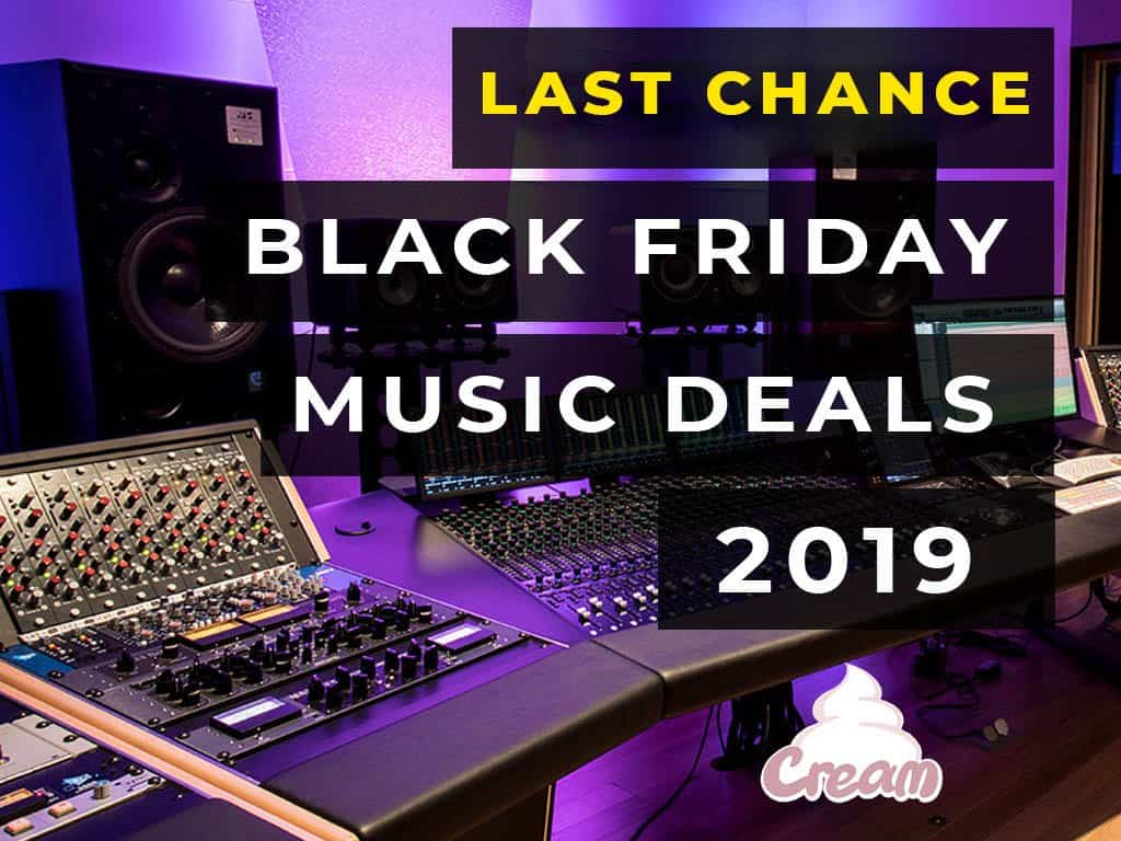 the best black friday music deals 2019