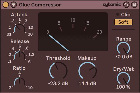 glue compressor ableton live