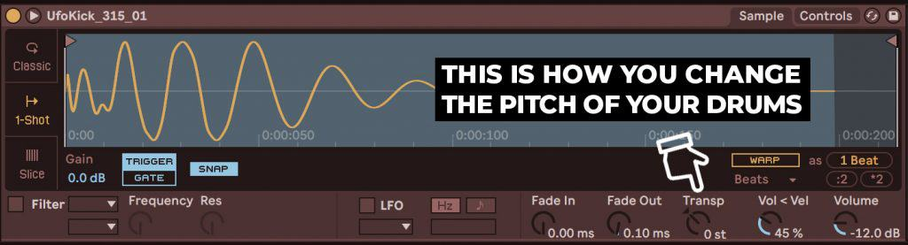 visual image of how to tune drums