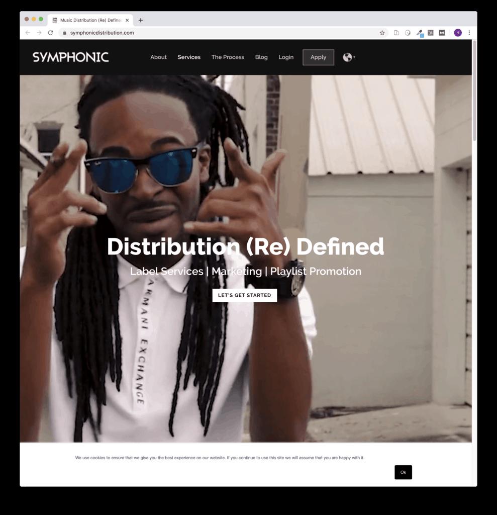 symphonic digital distribution free