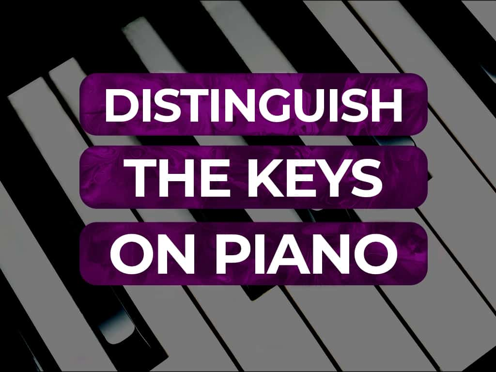 KEYS ON THE PIANO: How To Identify Them