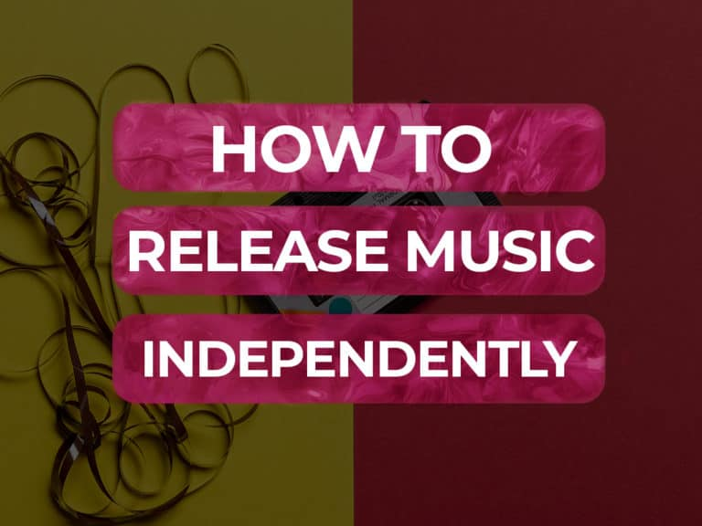 how to release music independently