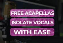 free acapellas isolate vocals with ease