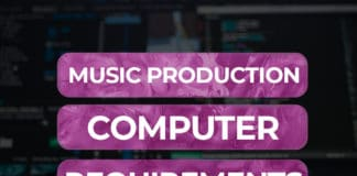 music production computer requirements