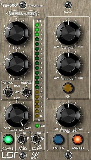 Lindell Audio 7X-500 compressor plugin