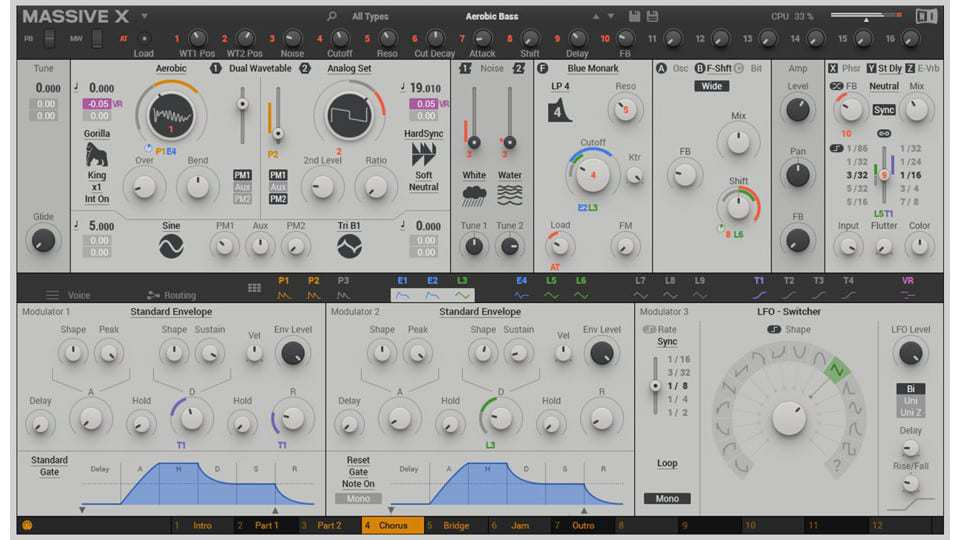 native instruments massive x wavetable synth VST