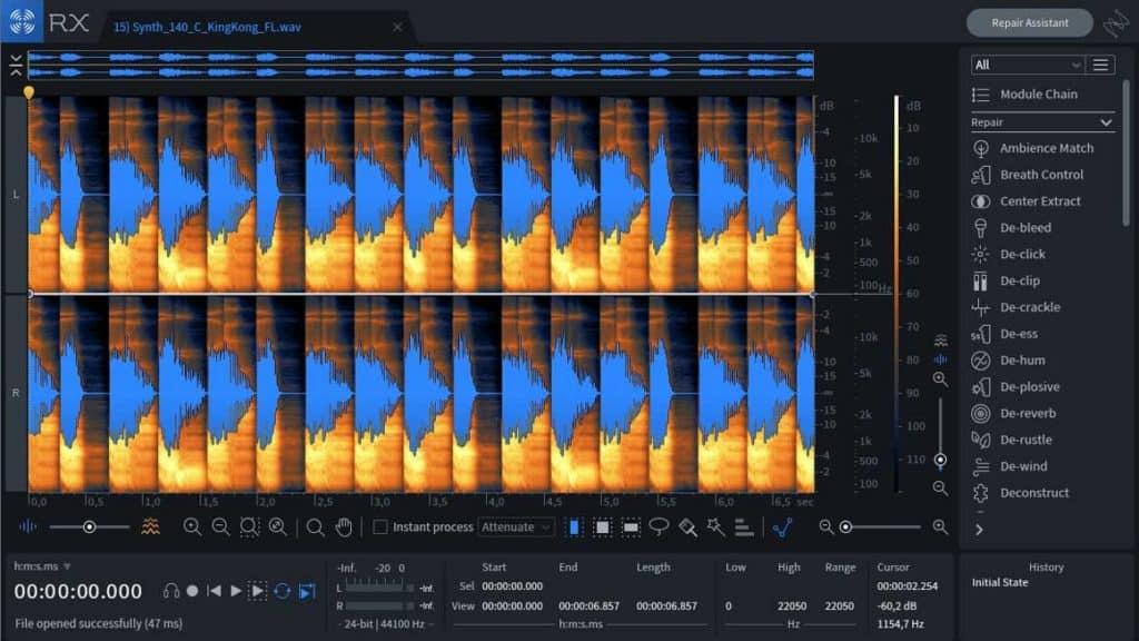 izotope rx-8 audio repair & de-noise plugin