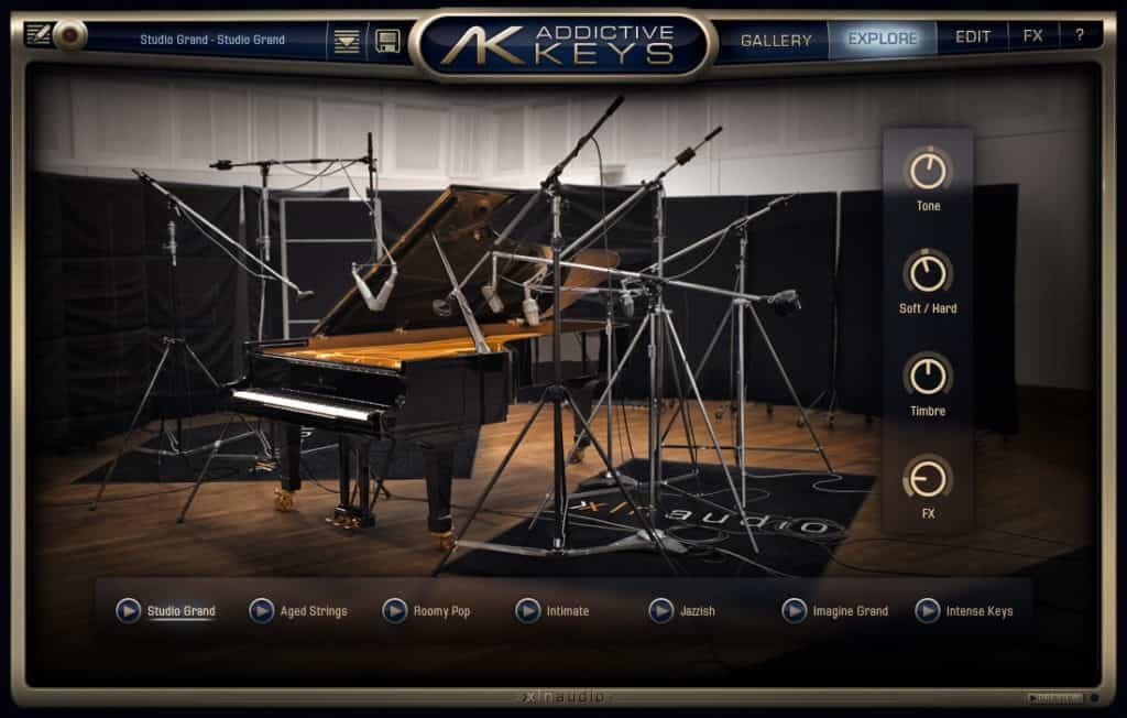 addictive keys piano instrument