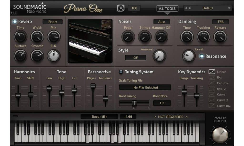 soundmagic piano one piano emulation vsti