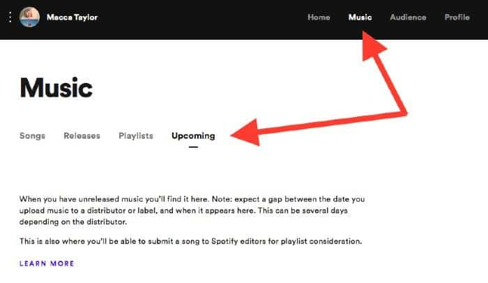 how to get on spotify playlists