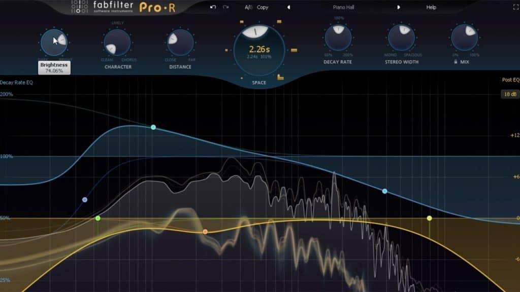 fab filter pro r reverb plugin effect