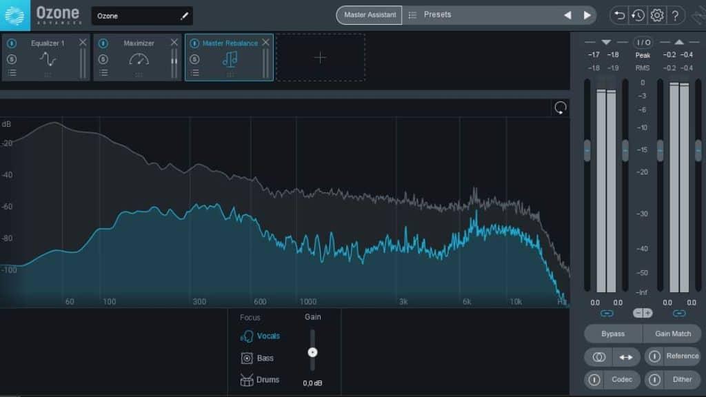 izotop ozone 9 AI mastering plugin