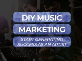 diy music marketing techniques that work