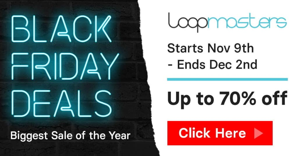 loopmasters black friday