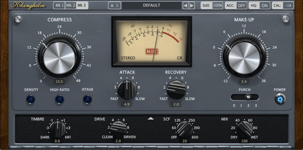 vintage compressor for basss