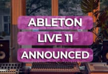 ableton live 11 announced