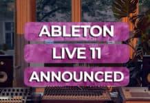 ableton live 11 announced