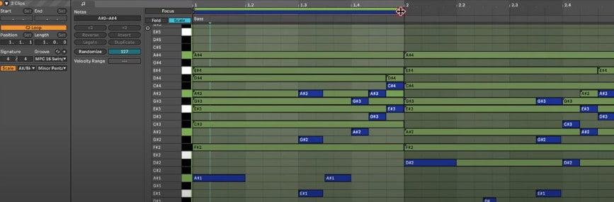 ableton live 11 clip editing