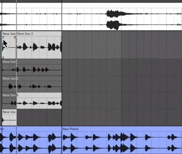 ableton live 11 comping & editing