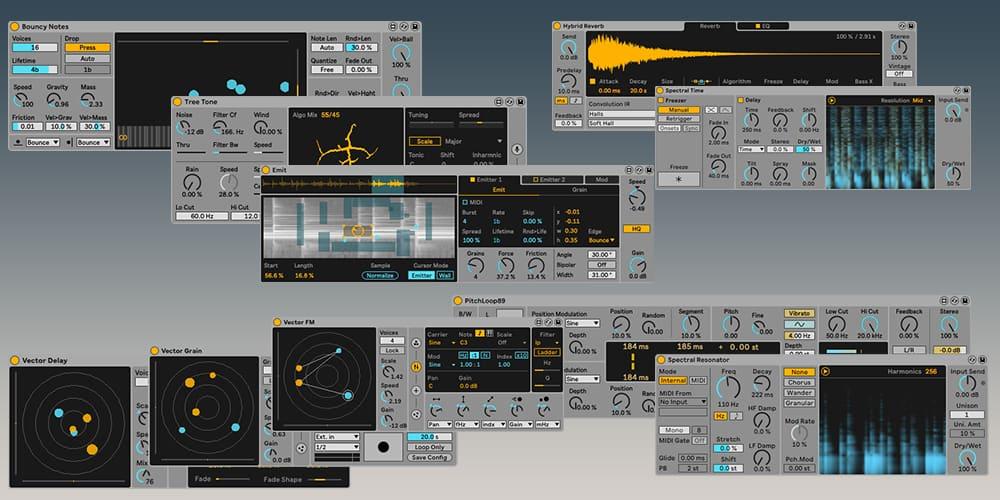 Ableton Live 11 plugins