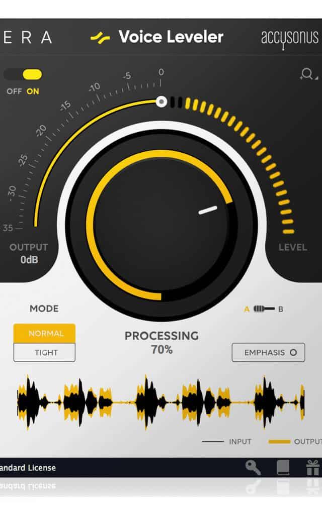 accusonus era 5 voice leveler plugin