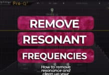remove resonant frequencies