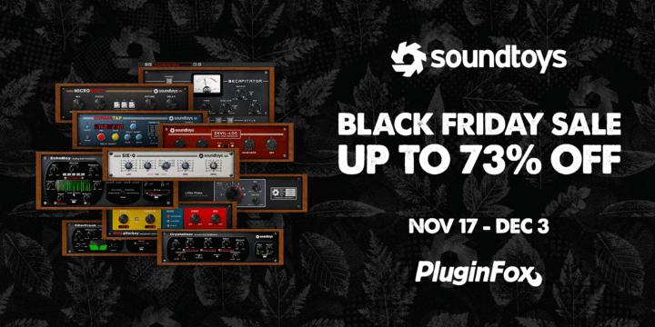 soundtoys black friday plugin deals