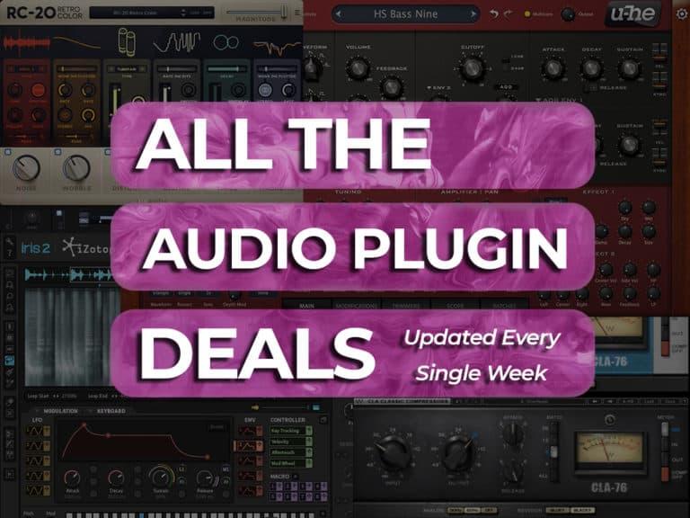 audio plugin deals