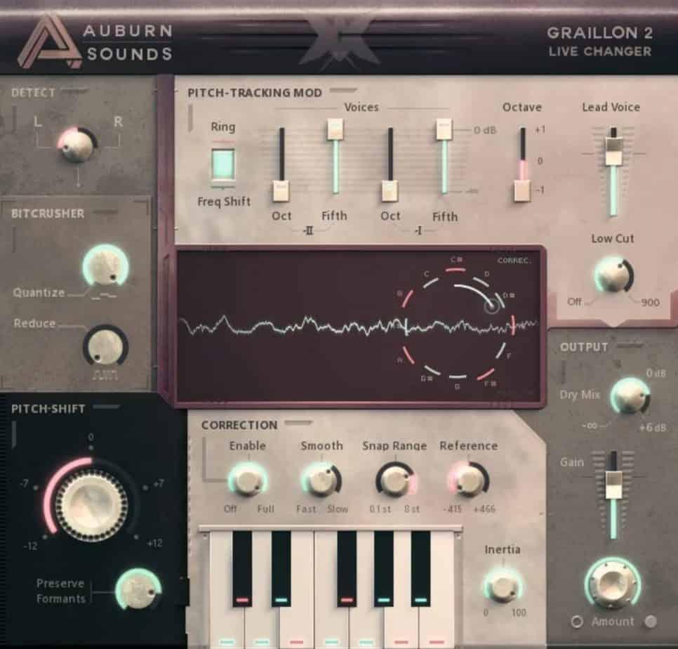 graillon 2 free auto tune vst plugin