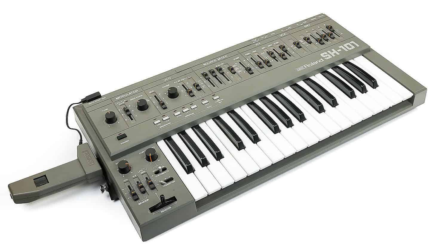 roland sh-101 hardware synth