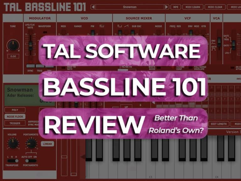 tal bassline 101 review