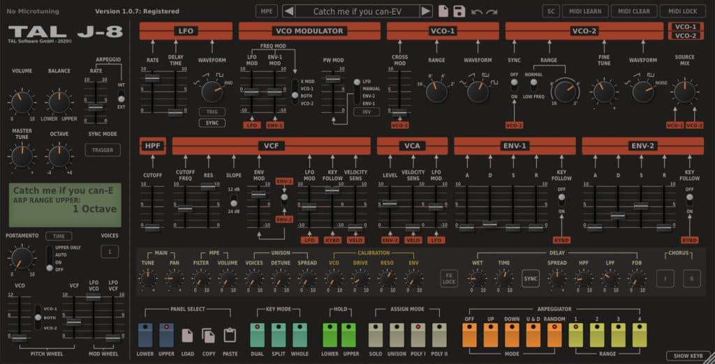 tal j8 synth vst plugin
