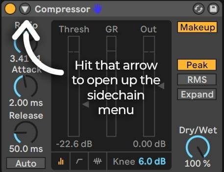 sidechain compression tutorial