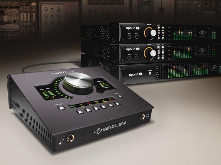 apollo twin MK II duo audio interface