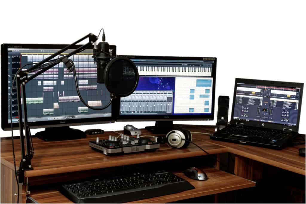 bedroom producer studio