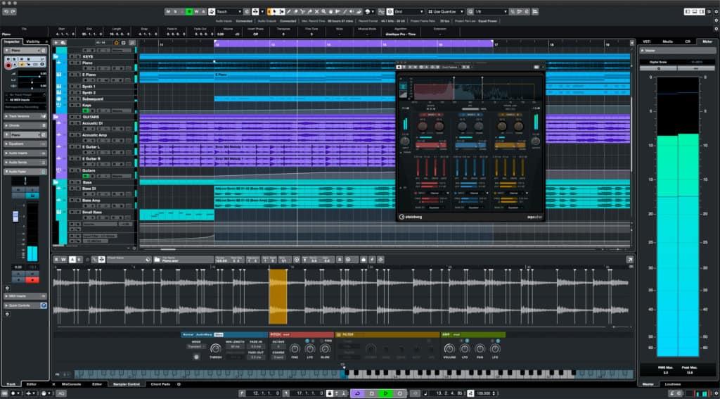 cubase LE digital audio workstation