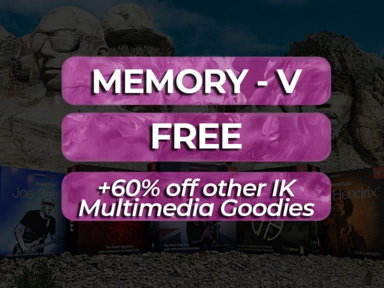 IK Multimedia Memory V Free