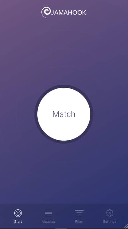 jamahook user interface