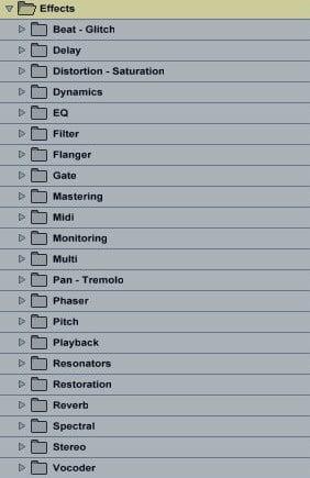music production workflow - organisation