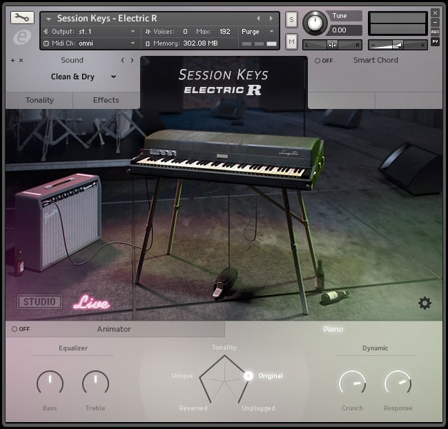 session keys r e-piano