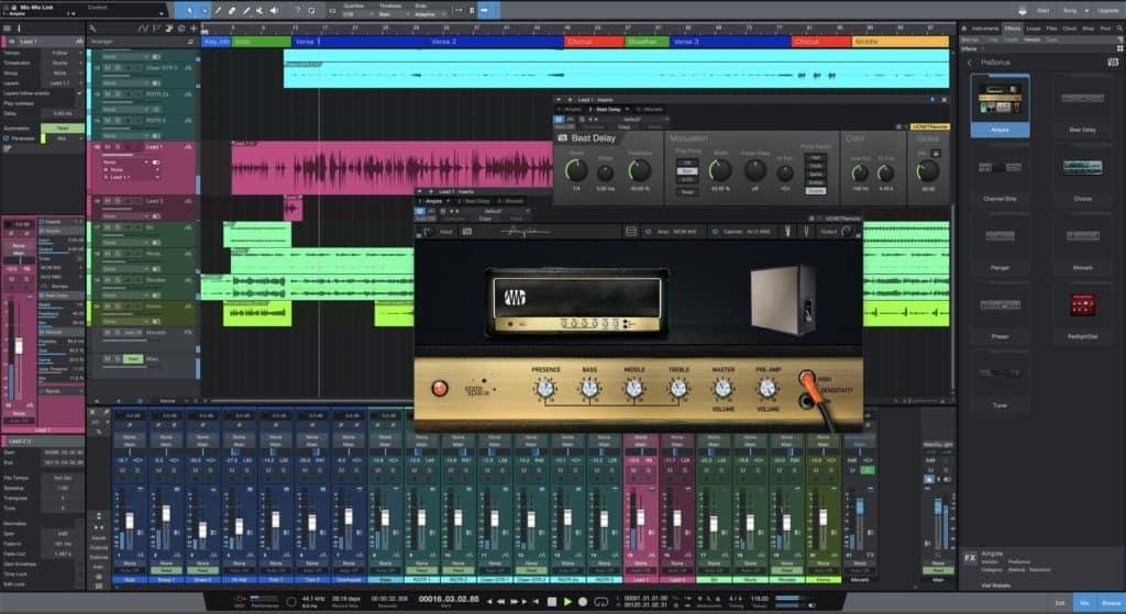 studio one prime v5 free daw