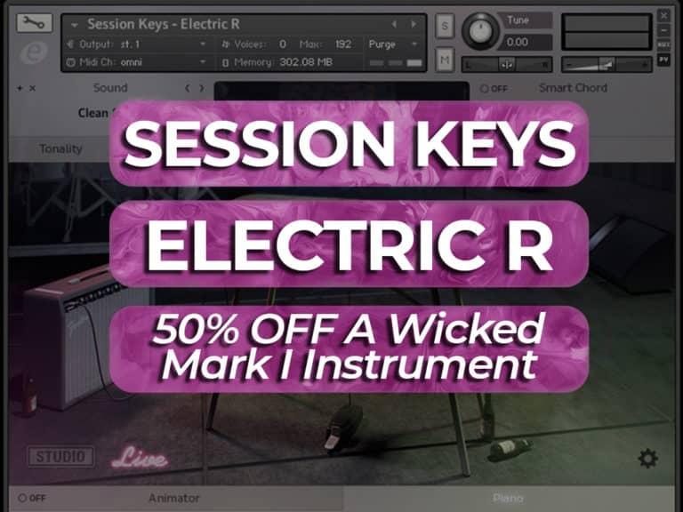 get 50% off session keys electric r