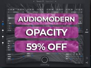 audiomodern opacity 59% off