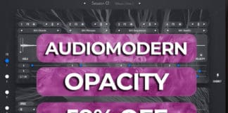 audiomodern opacity 59% off