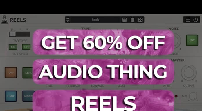 get 60% off audio thing reels