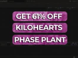 61% off kilohearts phase plant audio `plugin deal