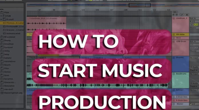 how to start music production